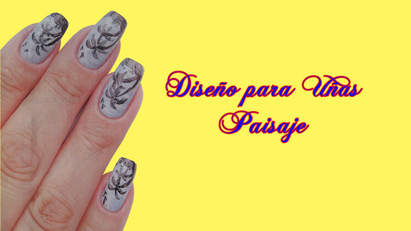Diseño para Uñas Paisaje - Nails Design - Diseño de Uñas - 71